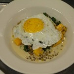 Lentils with Farm Egg CP Dec 2011