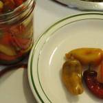 One month later...finished pepper pickles.