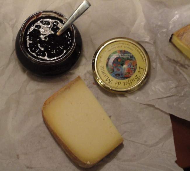 Sheep cheese and cherry jam | Jim Drohman