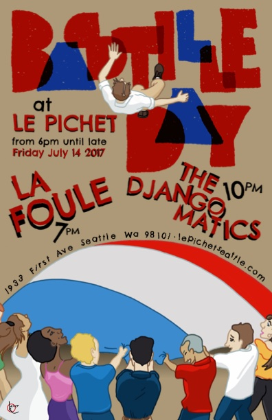 Bastille Day 2017 at Le Pichet